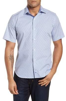 Tailorbyrd Shiloh Regular Fit Print Sport Shirt