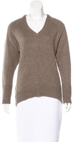 Alexander WangT by Alexander Wang Wool-Blend V-Neck Sweater