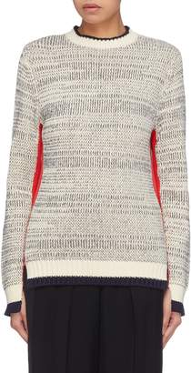 Victoria Beckham VICTORIA, Stripe outseam sweater