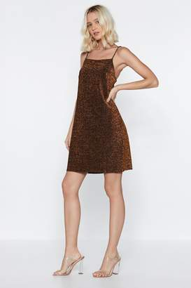 Nasty Gal All the Glitter and the Glamor Mini Dress