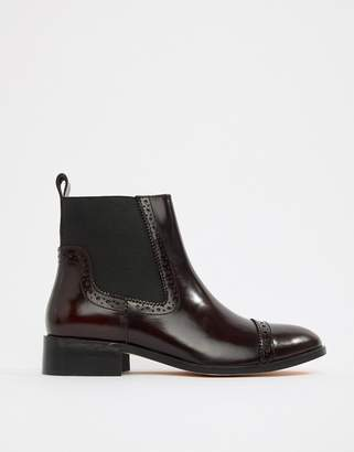 Dune Tyra Leather Chelsea Boots