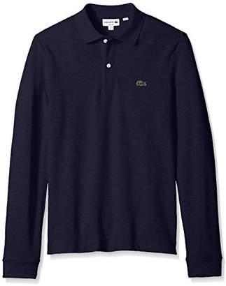 Lacoste Men's Long Sleeve Classic Slim FIT Pique Polo,4X-Large