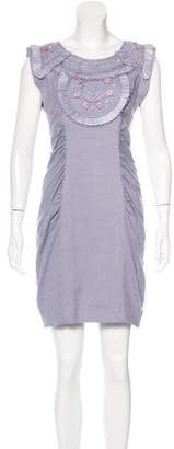 Matthew Williamson Embellished Sleeveless Dress w/ Tags