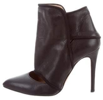 IRO Cutout Leather Booties