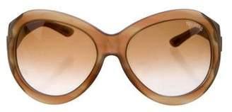 Tom Ford Elisabeth Oversize Sunglasses