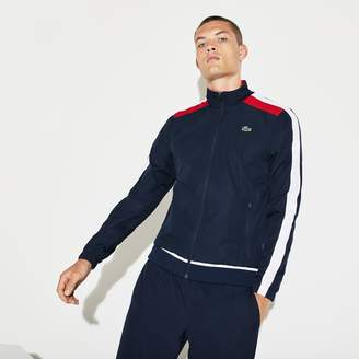 Lacoste Men's SPORT Colored Bands Taffeta Tennis Tracksuit