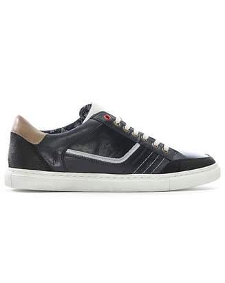 Daniel Footwear Daniel Penalta Leather Lace Up Trainer