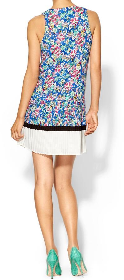Pim + Larkin Floral Shift Dress