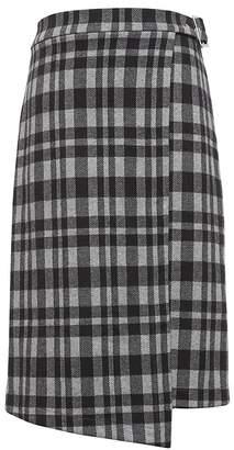 Banana Republic JAPAN EXCLUSIVE Plaid Knit Wrap Skirt