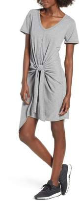 Socialite Tie Waist T-Shirt Dress