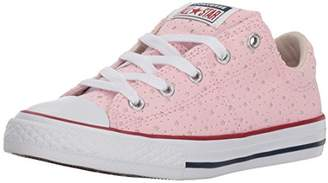 Converse Girls' Madison Star Perforated Low Top Sneaker