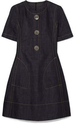 Marni Denim Mini Dress - Blue