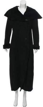 Ivan Grundahl Long Shearling Coat
