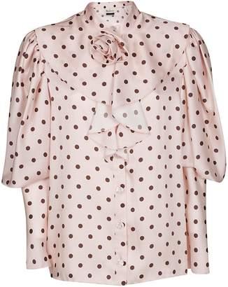 Mulberry Polka Dot Shirt
