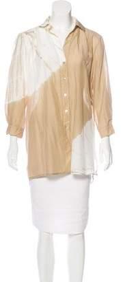 Young Fabulous & Broke Tie-Dye Button-Up Top