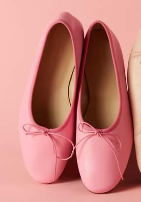 Mansur Gavriel Lamb Ballerina - Candy Pink