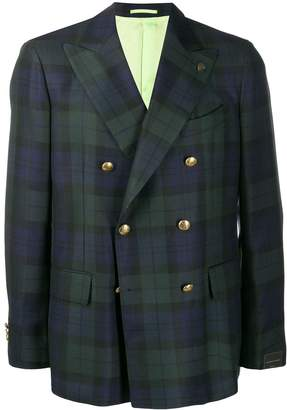 Gabriele Pasini tartan suit jacket