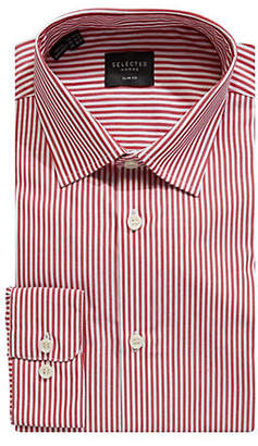 Selected Calix Slim Fit Striped Dress Shirt