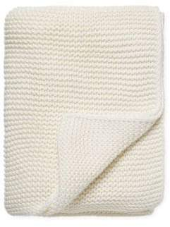 Melange Home Knit Cotton Throw Blanket