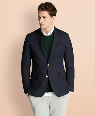 Brooks Brothers Stretch Wool Twill Blazer