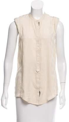 Zadig & Voltaire Silk Sleeveless Top