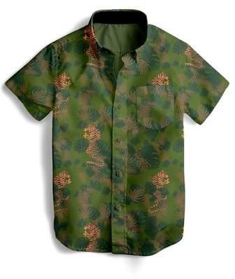 TINY WHALES EZ Tiger Woven Shirt