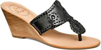 Jack Rogers Jacks High Patent Wedge Sandal