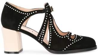 Fendi mid heel pumps