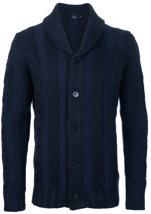Paul Smith cable knit cardigan