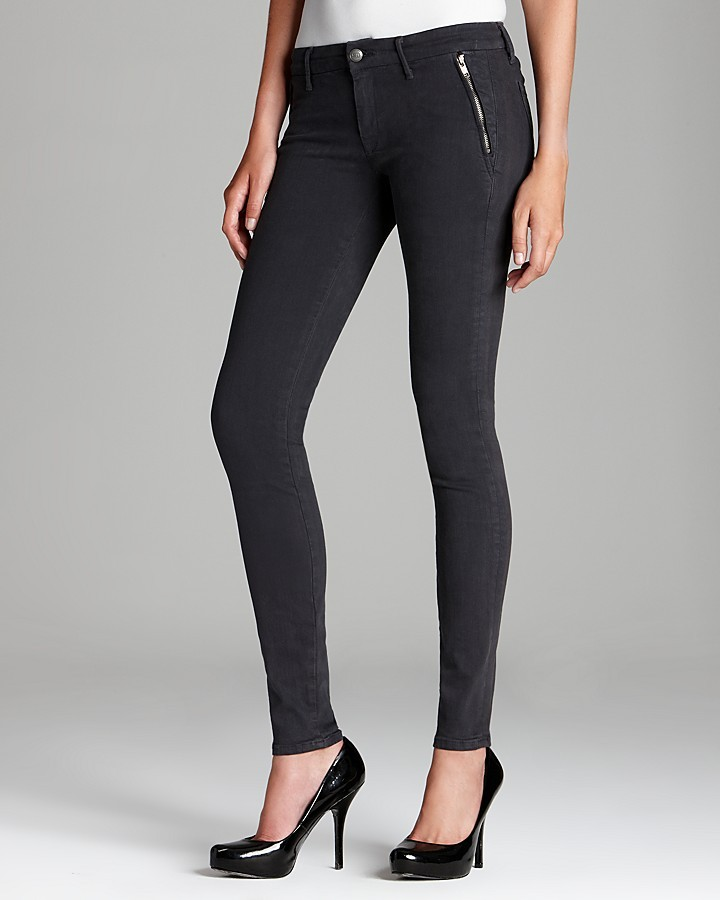 Of the Moment KORAL Jeans - Skinny Trouser in Charcoal