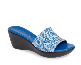 Athena Alexander Sugar Wedge Slide Sandal