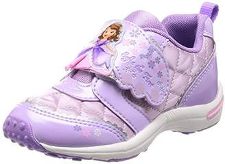 Disney (ディズニー) - [ディズニー] 運動靴 通学履き ソフィア マジック ゆったり キッズ DN C1218 パープル 15 cm 2E