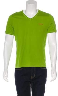 Etro V-neck Short Sleeve T-Shirt