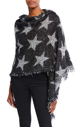 Collection XIIX Sequined Star-Print Wrap