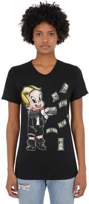 Dom Rebel DOMREBEL BALLER 25 コットンジャージーTシャツ