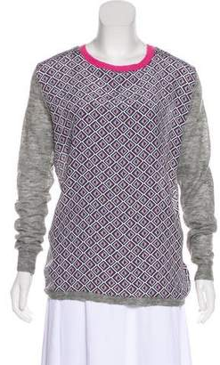 Ted Baker Printed Knit Sweater