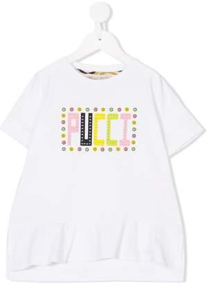Emilio Pucci Junior logo print T-shirt