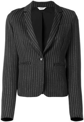Liu Jo fitted pinstriped blazer