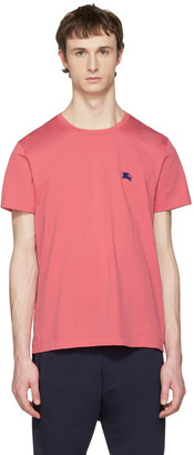 Burberry Pink Tunworth T-Shirt $105 thestylecure.com