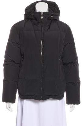 Post Card Puffer Hooded Jacket
