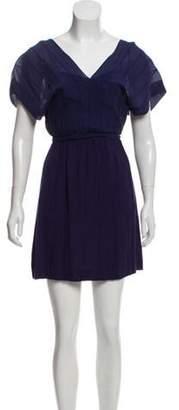 Diane von Furstenberg Tonal Mini Dress Tonal Mini Dress