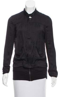 Kimberly Ovitz Zip-Up Casual Jacket