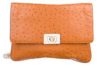 MICHAEL Michael Kors Embossed Leather Shoulder Bag