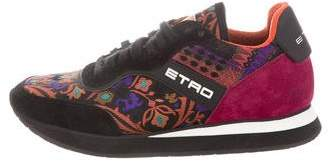 Etro Canvas Low-Top Sneakers