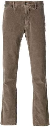 Incotex straight-leg cord trousers