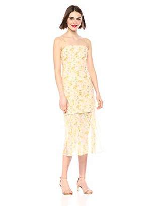 Elliatt Women's Apparel Women's Wattle Sleeveless Short Dress with Detachable Midi Skirt