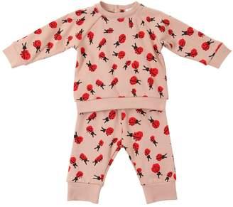 Stella McCartney Ladybugs Cotton Sweatshirt & Sweatpants