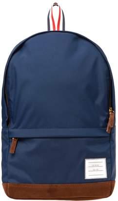 Thom Browne Nylon & Suede Backpack