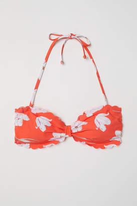 H&M Bandeau Bikini Top - Red