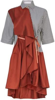 Palmer Harding Palmer/Harding Ripple Shirt Dress